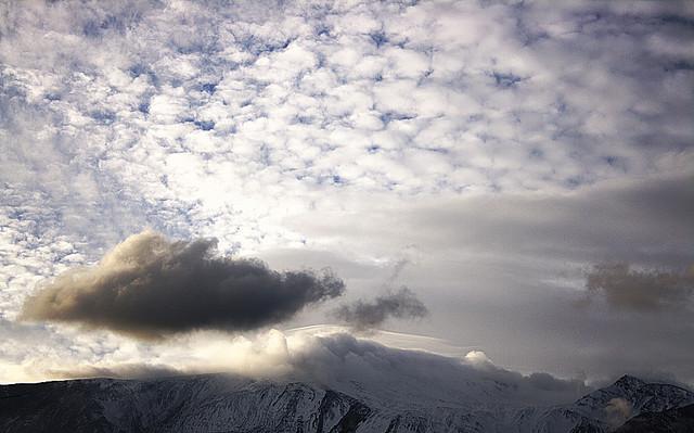 L'Etna A Gennaio